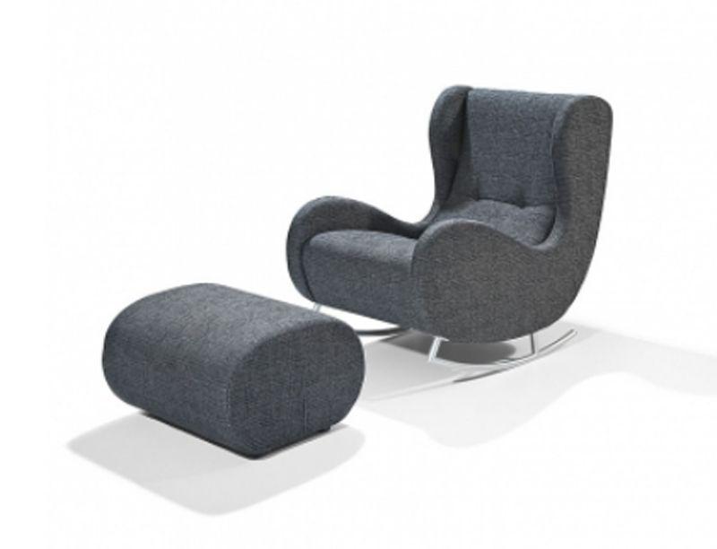 Moderner Schaukelstuhl details zu arte m bill modern schaukeln schaukelstuhl sessel
