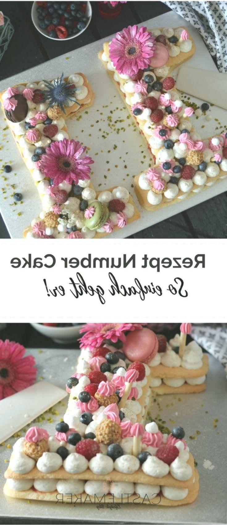 Number Cake / Letter Cake  Zahlenkuchen  so einfach geht der Kuchentrend #lettercakegeburtstag