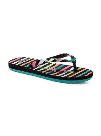 ee8f6670c6e96f Girls Pebbles V Sandals 888256814943 - Roxy
