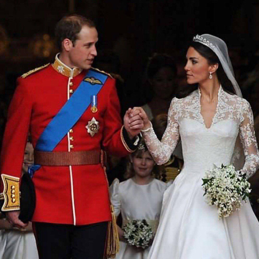 Prince William & Princess Kate Celebrity wedding dresses