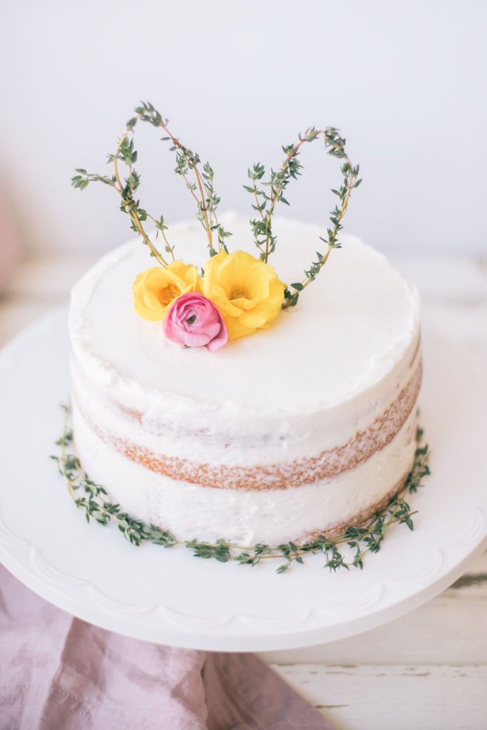 Bunny ear cake topper base without flowers  floral wreath crown photo prop  cake topper  photo prop  flower cake  lavender leaf designs