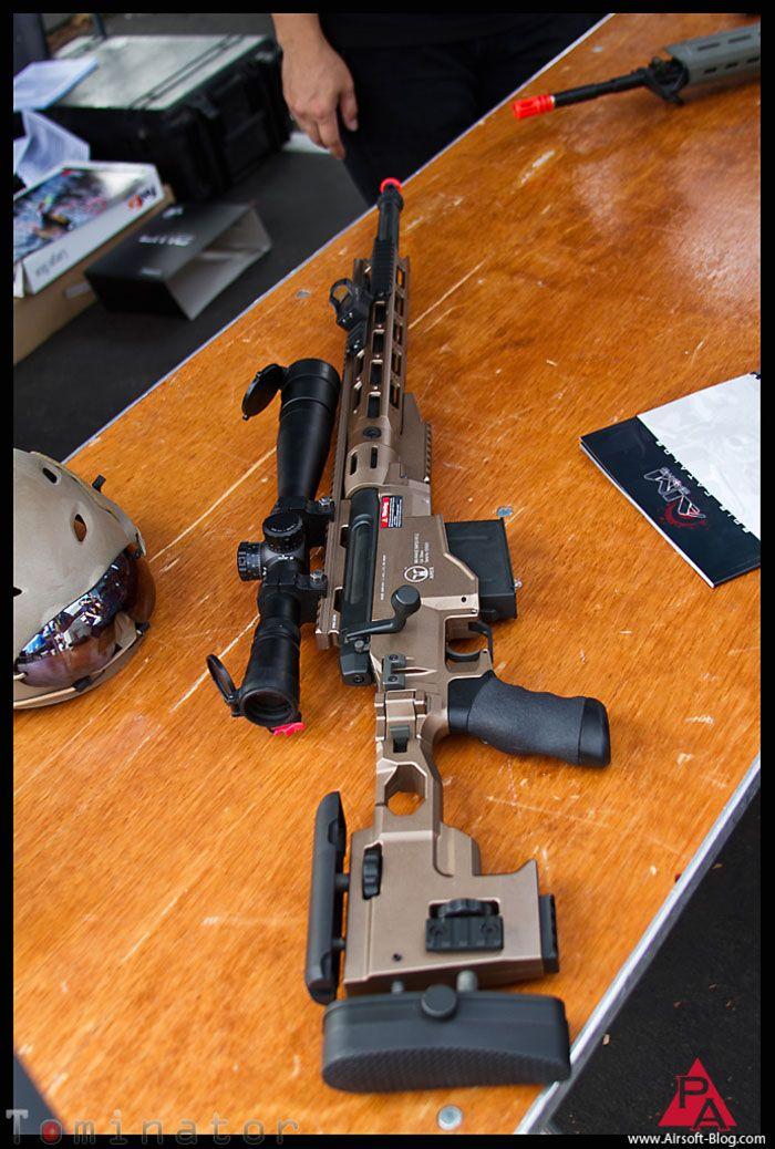 Ares MSR & SOCOM Gear Hitman M9 GBB