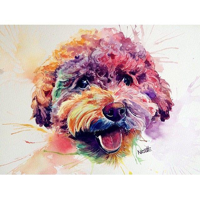 """ Beautiful #watercolor by: @hopuiness  #art #artist #artbotic #arte #artista"" Photo taken by @artbotic on Instagram, pinned via the InstaPin iOS App! http://www.instapinapp.com (03/24/2015)"