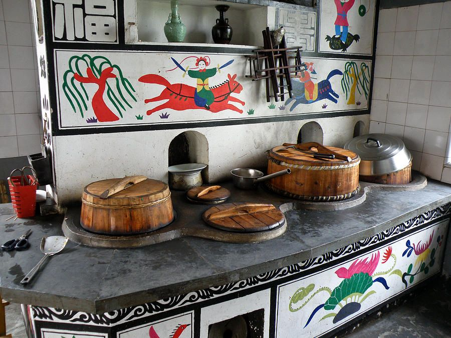 traditional chinese kitchen Google Search Traditional