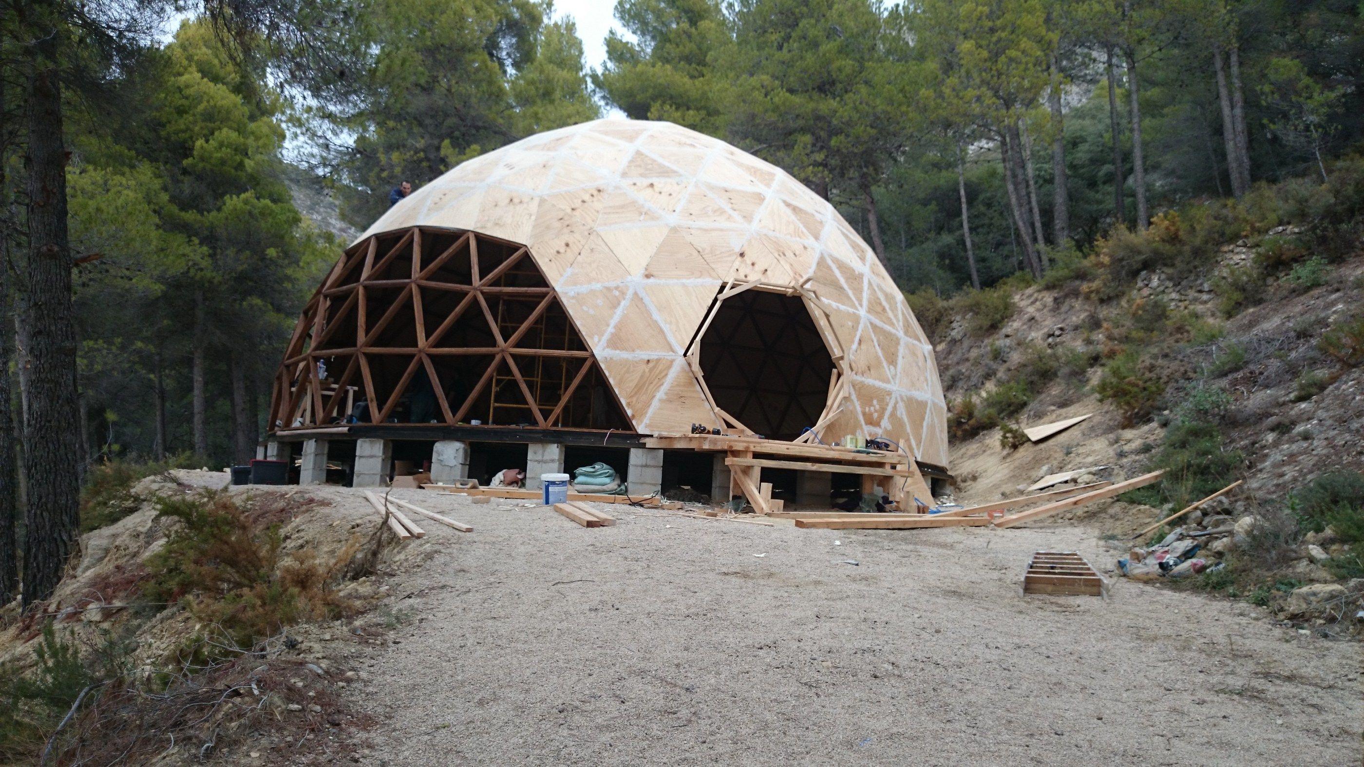 domo geod sico alicante domos geod sicos geodesics domes domos pinterest. Black Bedroom Furniture Sets. Home Design Ideas