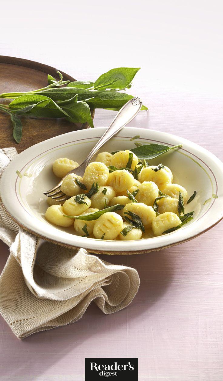 Pastinaken-Gnocchi mit Salbei