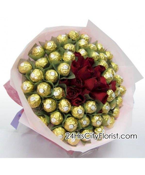 Ferrero Rocher Hand Bouquet