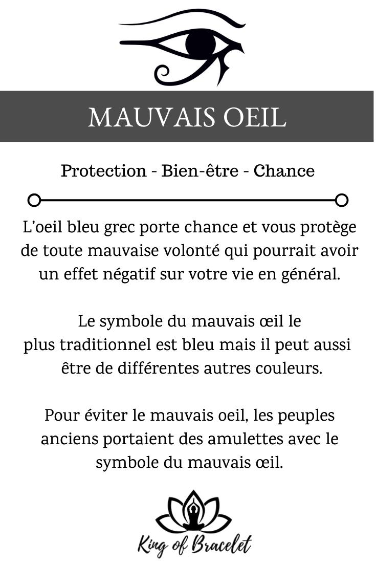 Mauvais Oeil Signification Du Symbole De L Oeil Bleu Grec Bleu Grec Symbole Protection Mauvais œil