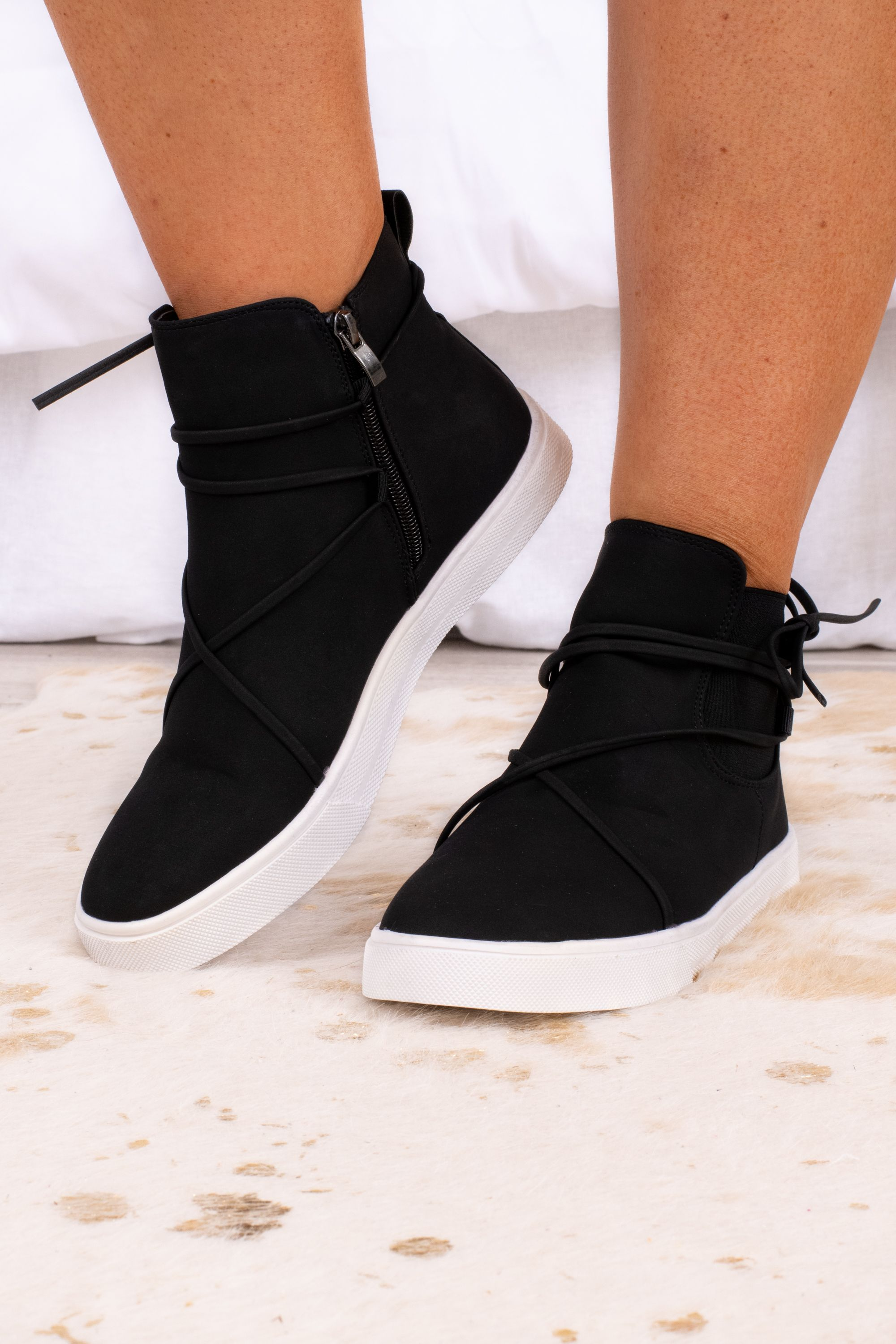 Chasing Pavements Sneakers Black Wedge Sneakers Outfit Sneakers Black Wedge Sneakers