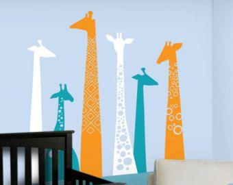 Children Wall Decal - Giraffe Wall Decal - BRAND NEW! - Giraffe Decal for Baby & Children Wall Decal - Giraffe Wall Decal - BRAND NEW! - Giraffe ...