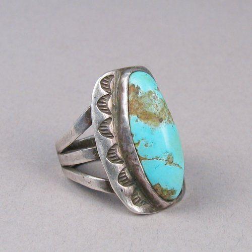 Turquoise Ring Natural Turquoise Ring,Sterling Silver Ring Turquoise Stone Ring Tibetan Turquoise Ring Navajo Ring Bohemian Ring 46