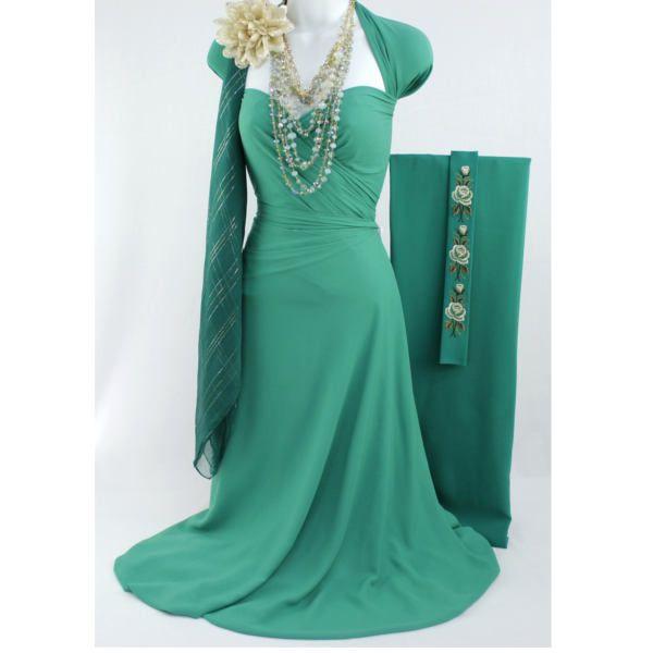 Fabric Boutique - 774 N Pacific Hwy, Woodburn, Oregon - Emerald book M, <p>4 yards georgette: $22</p> <p>scarf: $13</p> <p>Necklace: $28</p> <p>Flower:$3</p> <p>Shirt: $45</p> <p>Retail value:$111</p> <p>Special gift set price $99</p> <p></p> <p></p> <p></p>