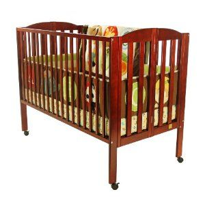 Dream On Me Full Sized Folding Crib I Had A Hand Me Down Crib Which I Left Behind When We Moved I Used This Exact Crib As A Renta Dream On