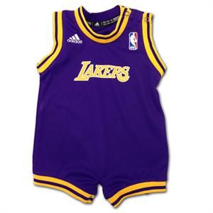 the best attitude 5d42f 2fa57 Lakers Basketball Tot Jersey Romper, #baby #kids #lakers ...