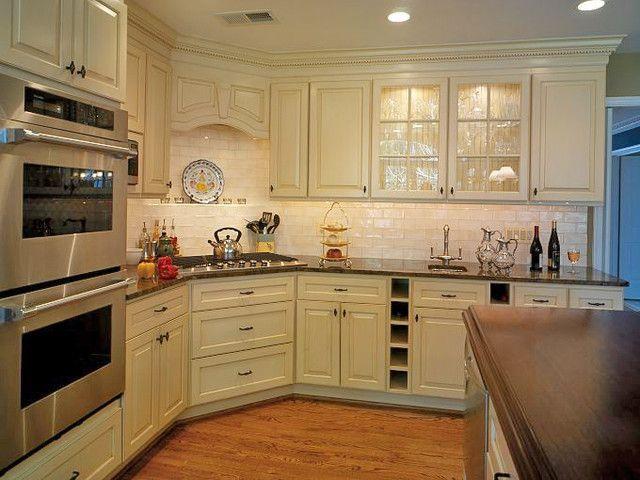 Wall Mounted Oven, Corner Kitchen, Corner Cooktops In Kitchen, Double Oven  Corner,