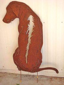 Ridgeback Sculpture Most Beautiful Dogs Dog Art Rhodesian Ridgeback Dog