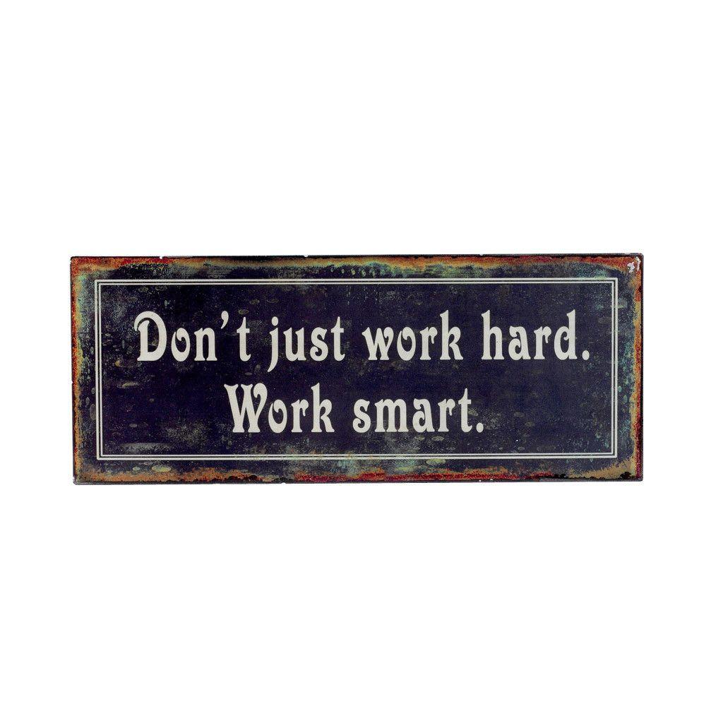 >> WORK SMART // words