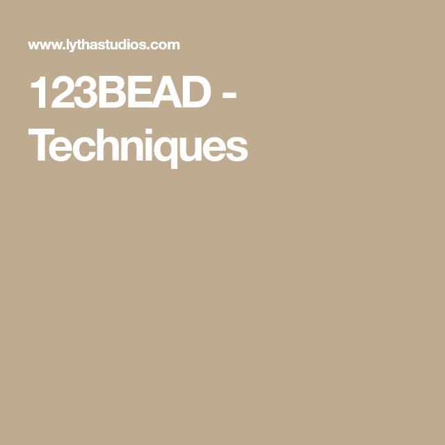 123BEAD - Techniques