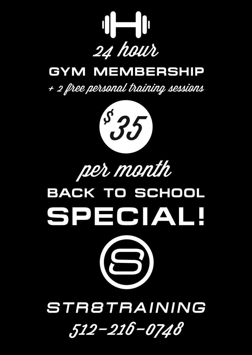24 hour gym membership 2 free personal training sessions