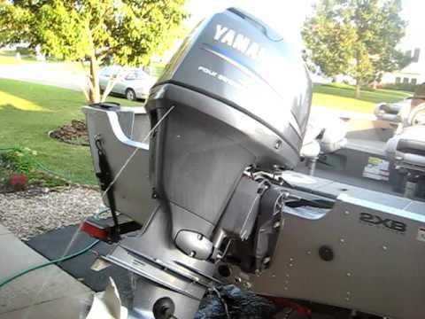 Unclogging Yamaha Outboard Engine The How To Outboard Boat Wiring Yamaha