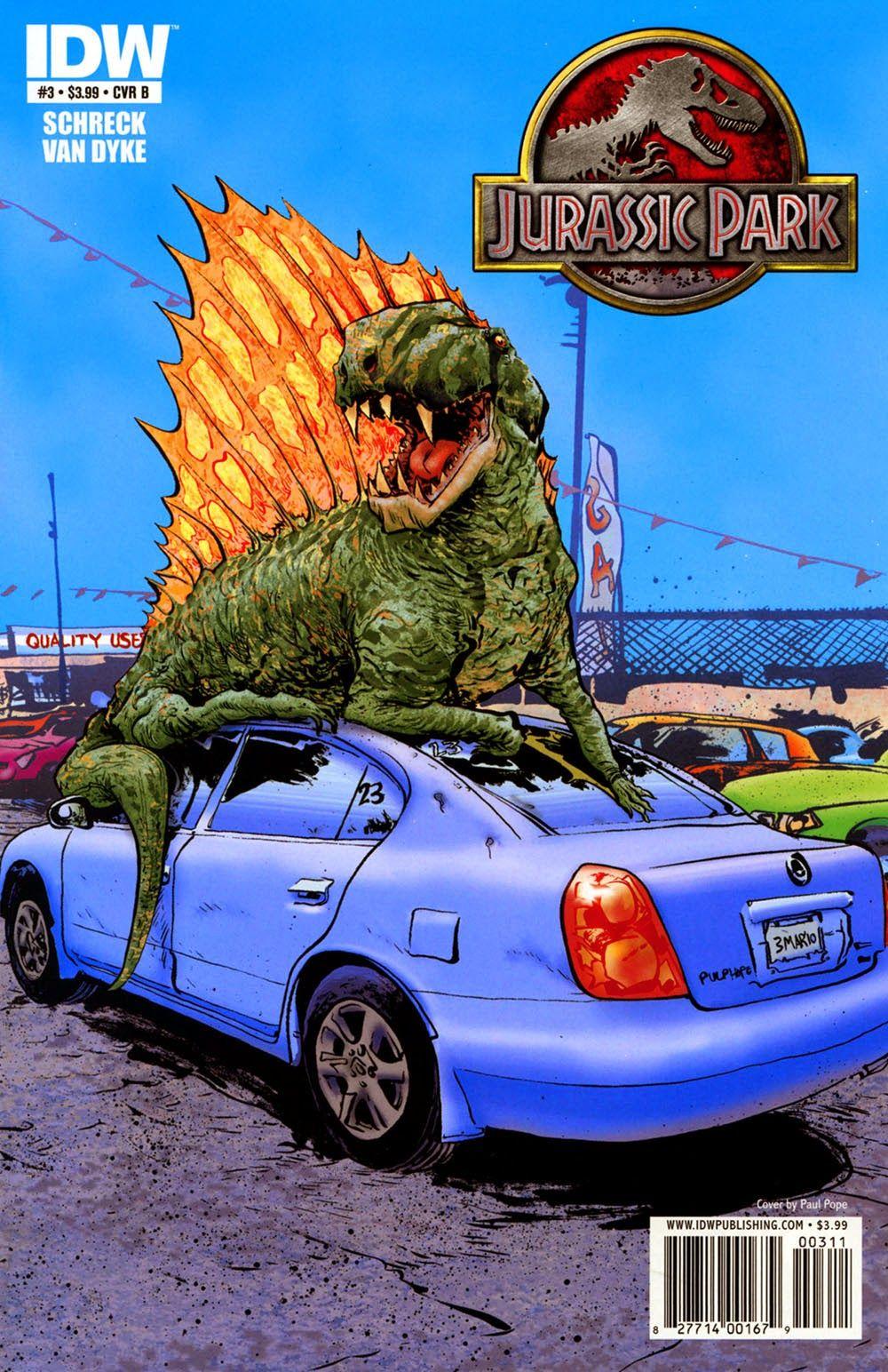 Jurassic Park 003 ……………………………… | Viewcomic reading comics