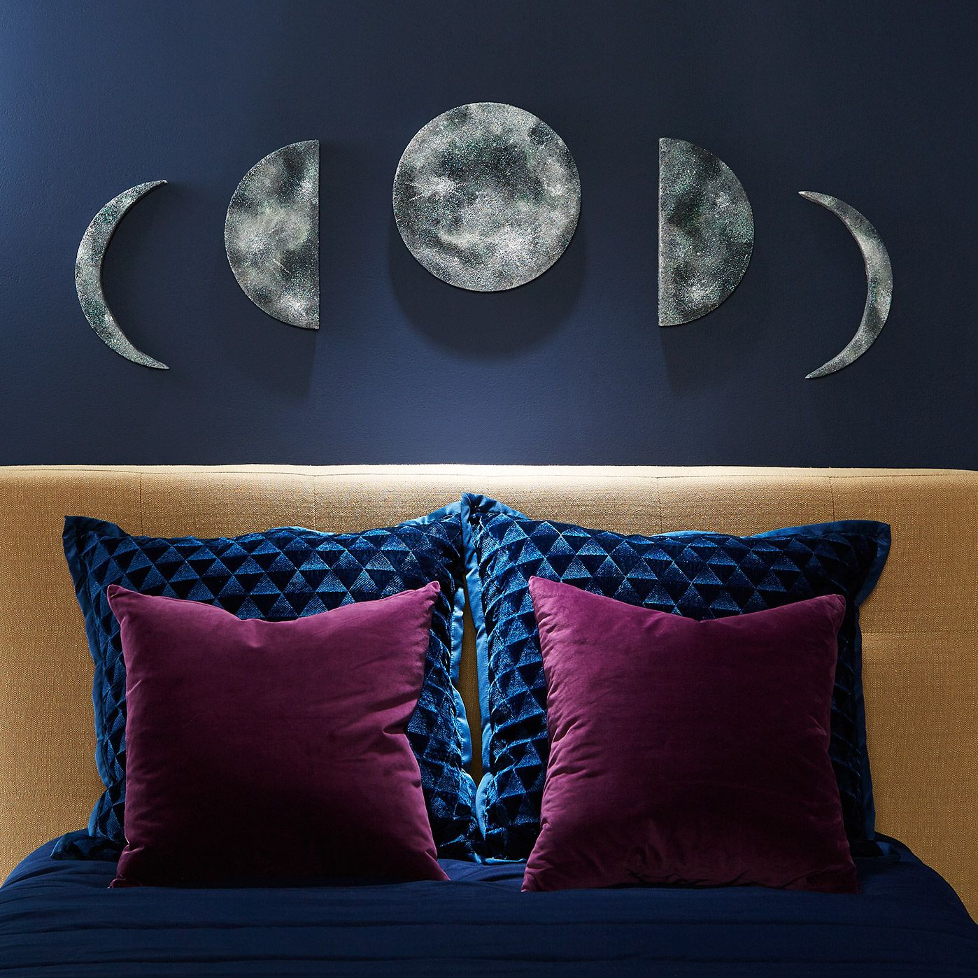 Phases of the moon wall art cheap home decor pinterest diy