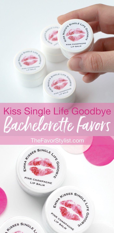 Bachelorette Lip Balm Favors + Custom Labels | Pinterest | Single ...