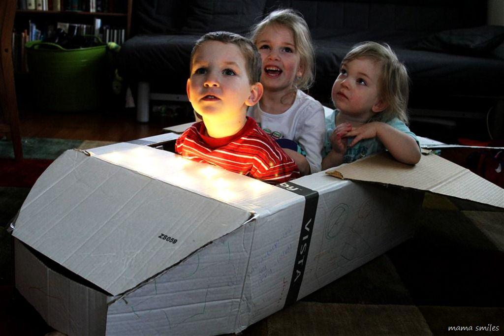 DIY Cardboard Space Shuttle