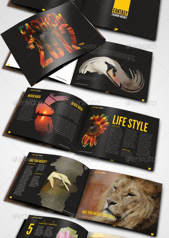 Fantasy Booklet Template – Booklet Template