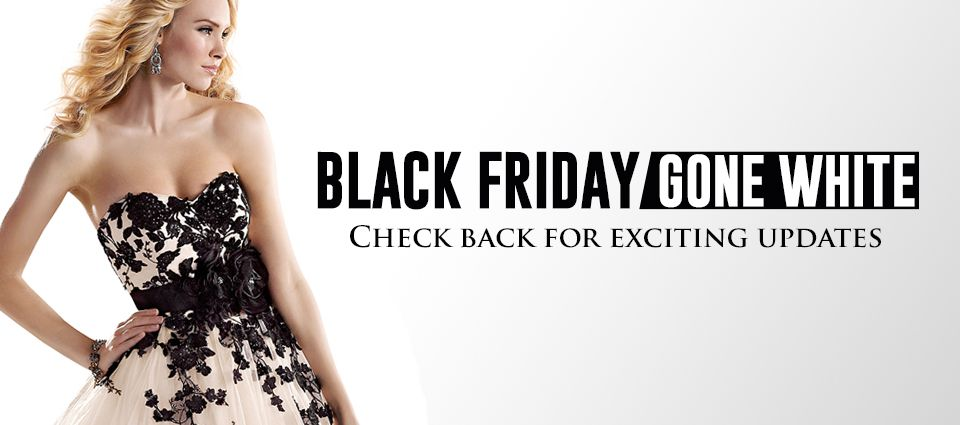 Bridal Closet is doing a Black Friday / Cyber Monday Sale on Wedding ...