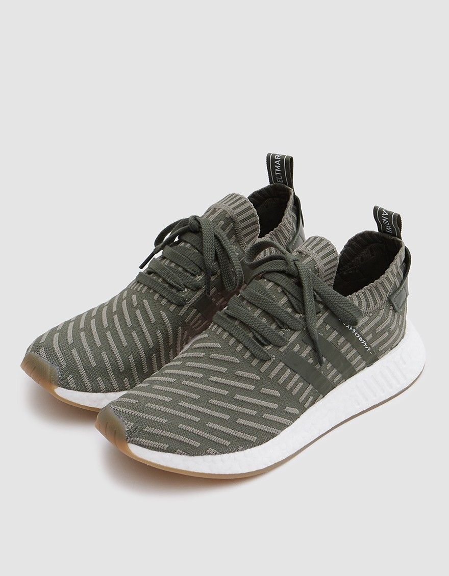 ae2f7a6812765 Modern runner from Adidas in Grey. Primeknit upper with 3D knit pattern.  Sock-like construction. Lace-up front with flat woven laces.