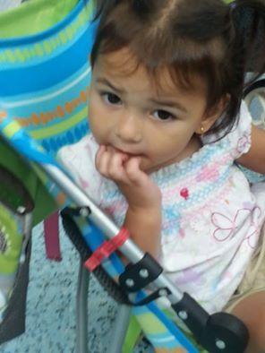 Precious granddaughter, Kaylie