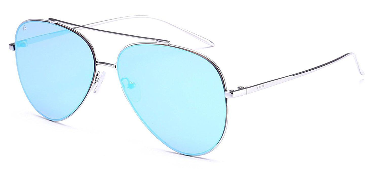 "88c65f96fd59 PRIVE REVAUX ""The Aphrodite"" Handcrafted Designer Aviator Sunglasses ..."