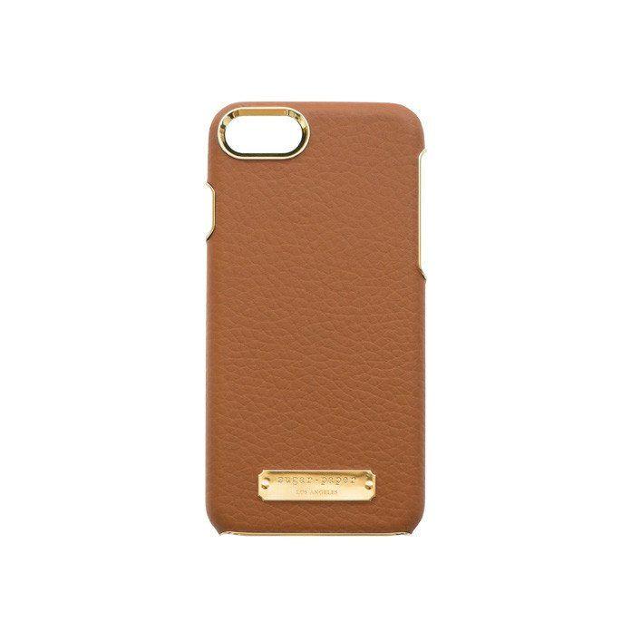 Cognac Leather iPhone 7 Case