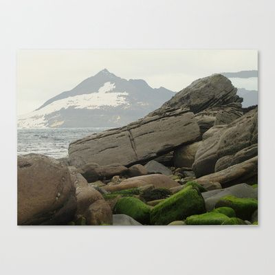 ....'as on a darkling plain' Stretched Canvas by anipani - $85.00