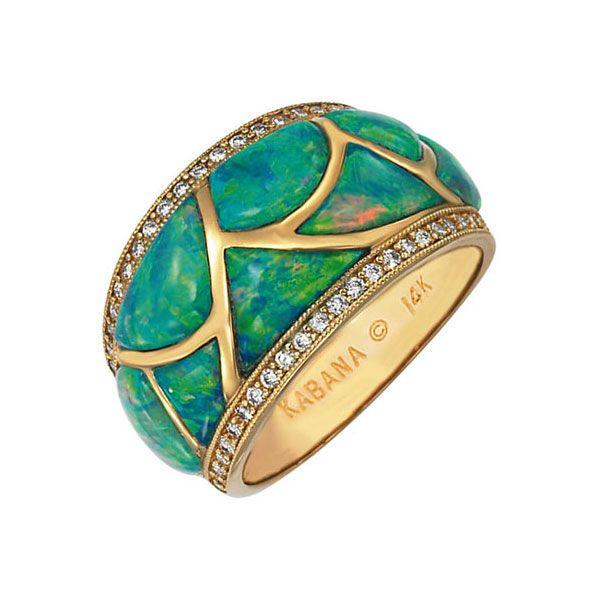 Gorgeous Australian Opals   Green Jewelry
