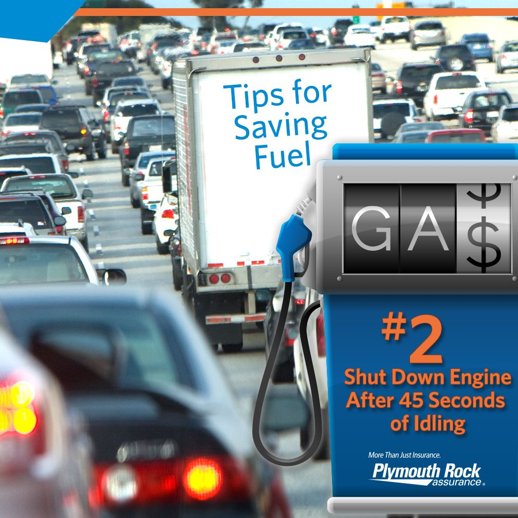 Did you know idling your car longer than 45 seconds
