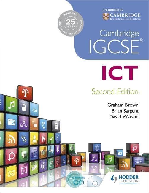 Cambridge IGCSE® ICT Student's Book 2nd Edition | My IGCSE