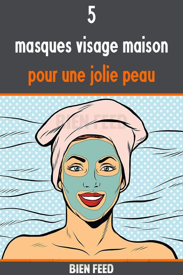 5 masques visage maison pour une jolie peau