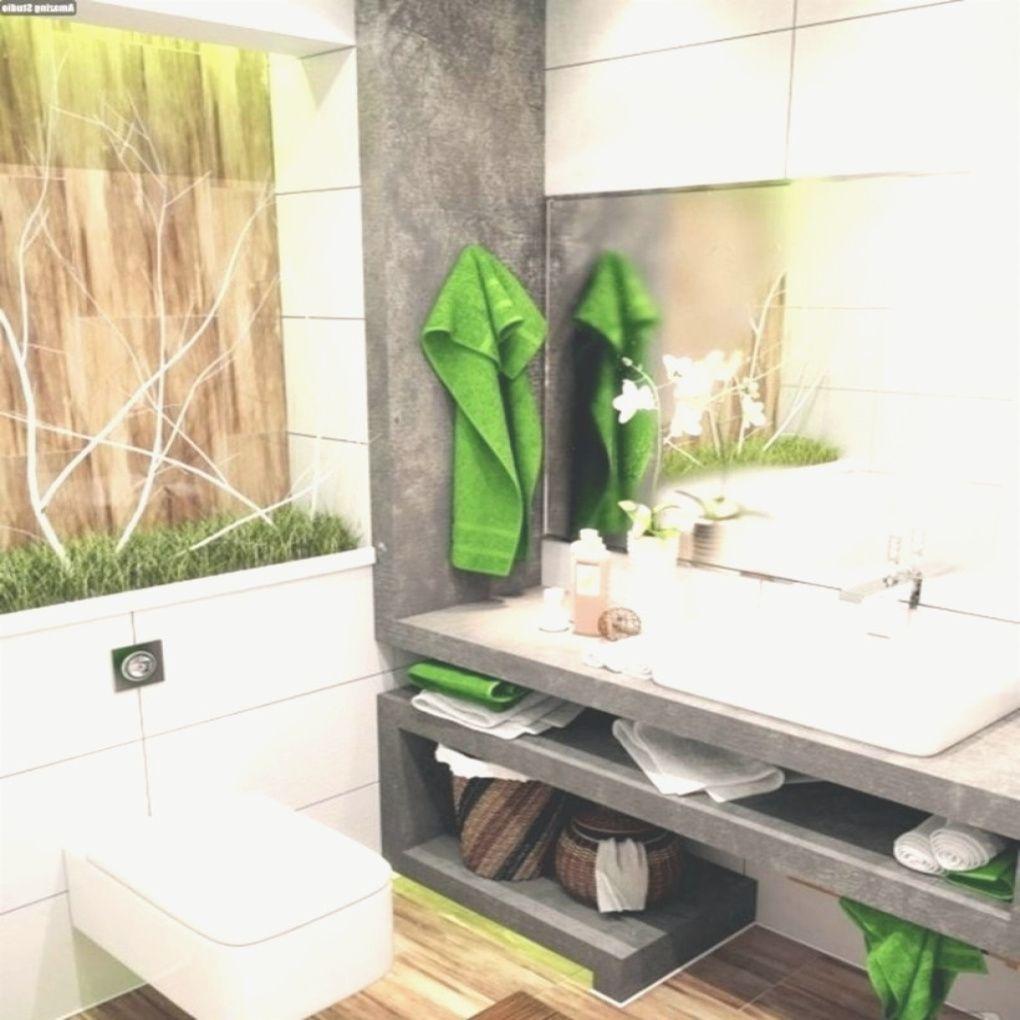 Dekoration Badezimmer Grün