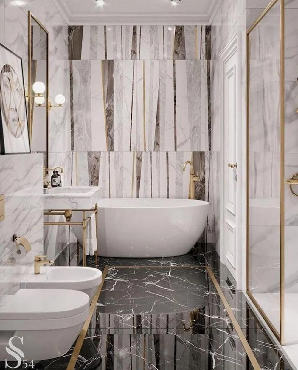 15 Stylish Bathroom Design Ideas That Can Be Applied To Your Home 6 Bathroomdesign Bedroo Bathroom Interior Design Bathroom Inspiration Decor Simple Bathroom