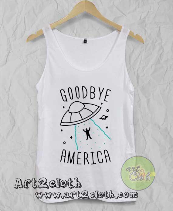 fcfd524272ee0b Goodbye America Unisex Adult Tank Top   Price   14.00     Trendfashion