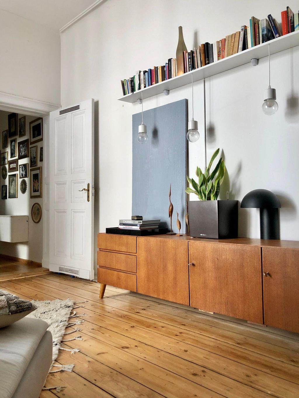 I 💚 Bogenhanf #wohnzimmer #sideboard #midcentury #wo...