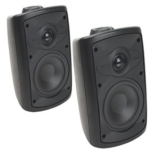 Niles Os5 3 Black 2 Way 5 Indoor Outdoor Home Theater Speaker Pair Outdoor Speakers Home Theater Speaker System Home Theater Speakers
