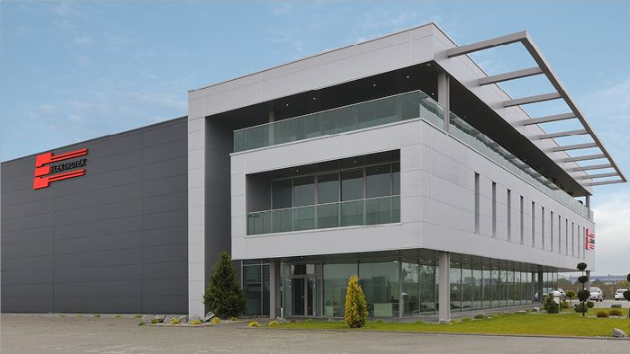 Modern warehouse google search corporate l building for Warehouse building plans