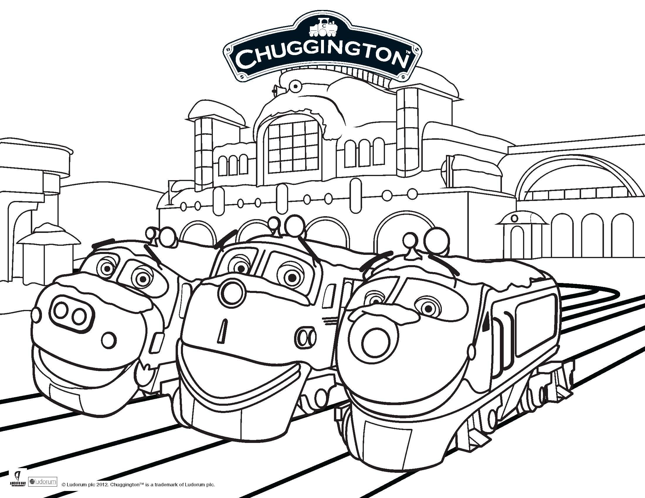 Calling All Children 12 Years And Younger Particiapte In Our Chuggington Coloring Competition