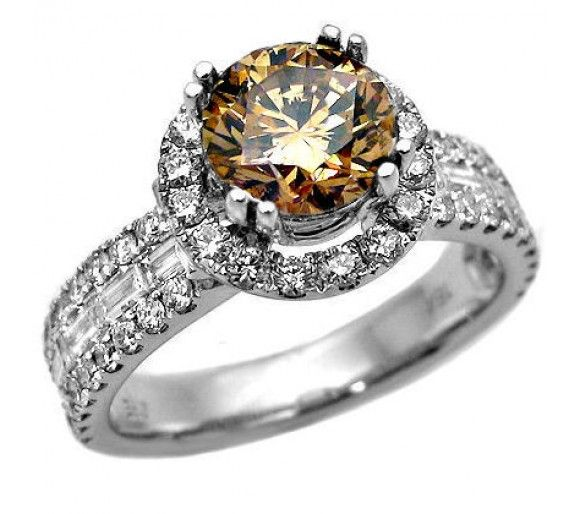 rings round diamond luxury gold wedding settings model chocolate