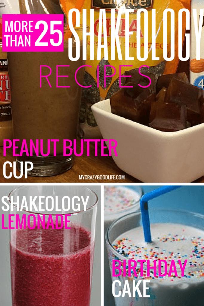 More than 25 Shakeology Recipes via @bludlum