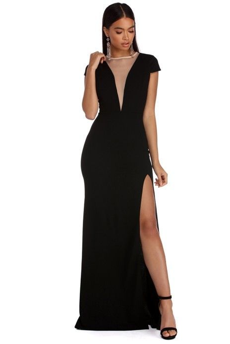 Amya Cap Sleeve Formal Dress My Work Special Occasion Dresses
