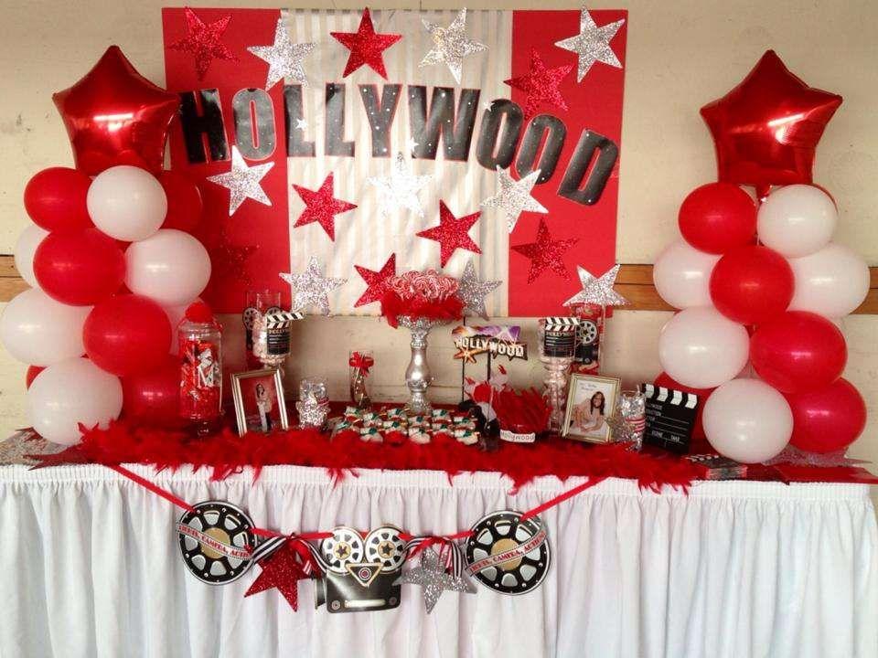 High School Christmas Party Ideas Part - 40: Hollywood Graduation/End Of School Party Ideas